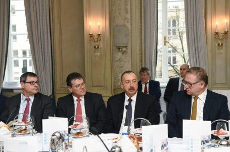 Yenidənqurma və İnkişaf, Avropa İnvestisiya Bankından maliyyənin ayrılmasını gözləyirik – ƏLİYEV- FOTO