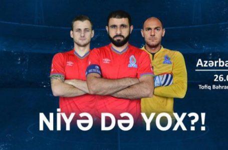 Azərbaycan-Almaniya milli komandalarının oyununu idarə edəcək hakimlər müəyyənləşdi