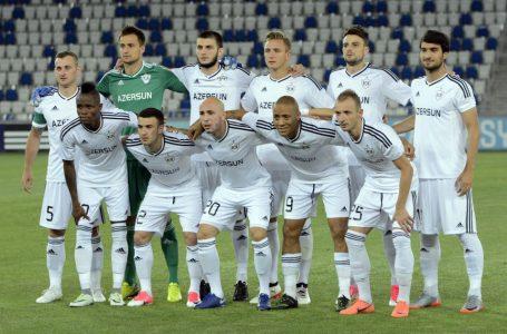 """""""Qarabağ""""-""""Samtredia"""" oyunu bitdi: 1-0- FOTO- YENİLƏNİB"""