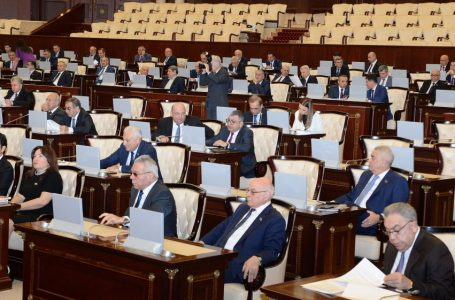 Parlamentin komitə iclaslarına start verilir – SABAHDAN