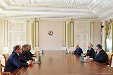 Əliyev Belarusun Baş nazirinin müavinini qəbul etdi – FOTO