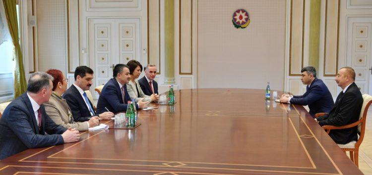 Prezident türkiyəli naziri və FIDE prezidentini qəbul etdi – FOTOLAR – YENİLƏNİB – (1)