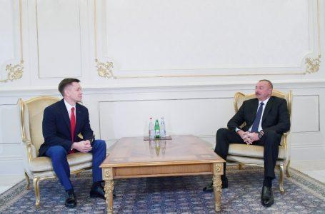 İlham Əliyev rusiyalı naziri qəbul etdi – FOTO