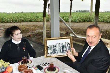 """""""Heydər Əliyev dedi ki, fiqura saxlayırsız, niyə yemirsiniz? Siz yeməsəniz, onda mən də nahar etməyəcəm…"""" – FATMA HÜSEYNOVA"""