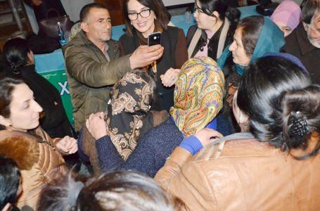 Jalə Əliyeva yeni izdidamlı görüşünə-İMZA ATDI – FOTOLAR