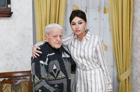 Mehriban Əliyevadan Əlibaba Məmmədova-TƏBRİK