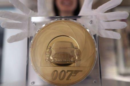 Ceyms Bondun 25-ci filmini qeyd etmək üçün qızıl sikkə buraxılacaq