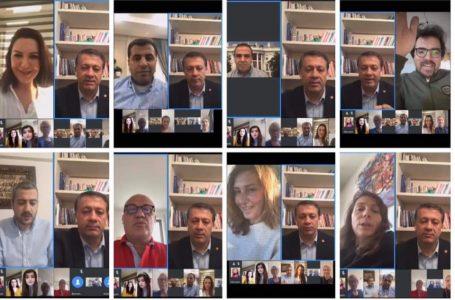 Koronavirus və dünya mediası: 15 ölkənin jurnalistləri-VİDEOKONFRANS KEÇİRDİ – FOTO