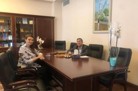 Qənirə Paşayeva Arif Quliyevlə görüşdü VƏ…-FOTOLAR