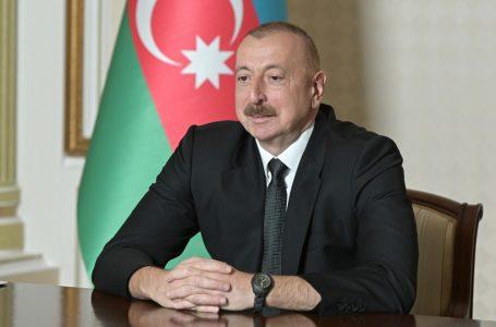 İlham Əliyev Trampı-TƏBRİK ETDİ…