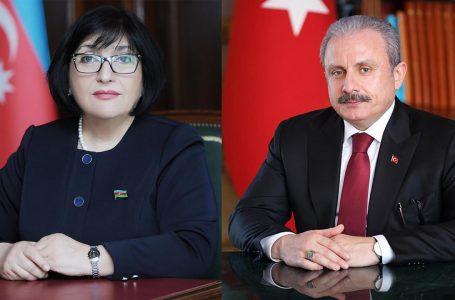 Qafarova ilə Şentop arasında-NÖVBƏTİ TELEFON DANIŞIĞI