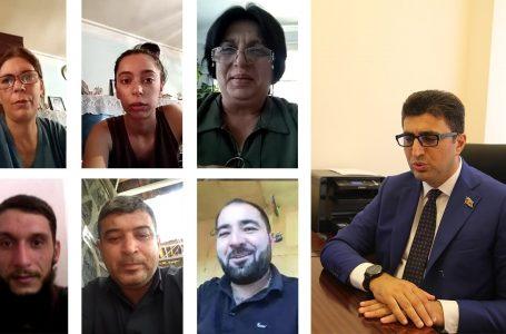Deputat daha 10 seçicisini-DİNLƏDİ VƏ…-FOTO