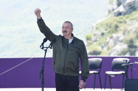 """""""Bizim qayıdışımız-Şuşaya, Qarabağımıza qayıdışımız budur…""""-ELDƏNİZ SƏLİMOVUN YAZISI"""