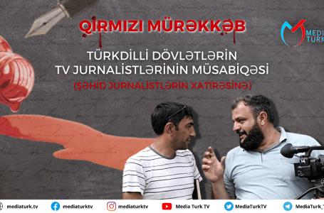 Şəhid jurnalistlərin xatirəsinə-MÜSABİQƏ KEÇİRİLƏCƏK