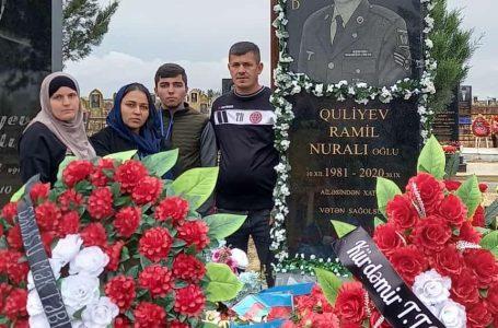 3 övladı Vətənə əmanət qalan 3 medallı Baş gizir-ŞƏHİD RAMİL QULİYEV… – FOTOLAR